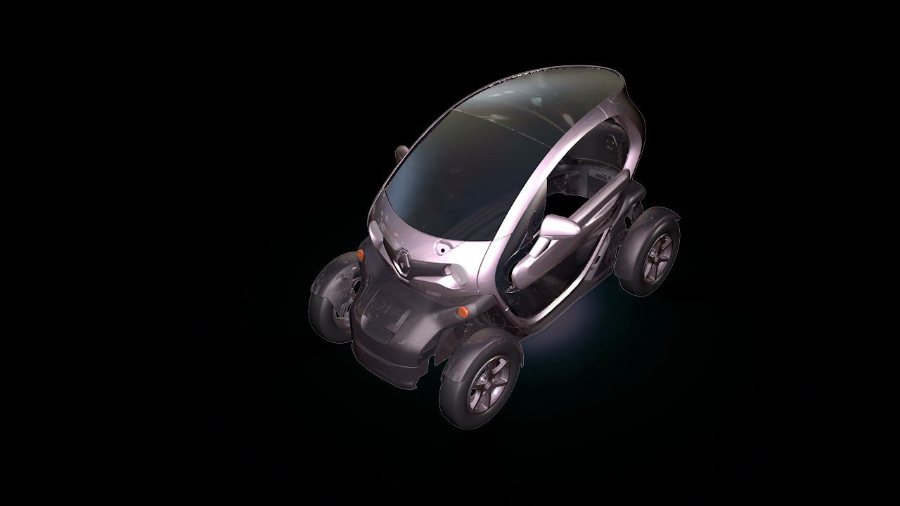 Renault twizy un innovativo video mapping a video sound for Renault renord